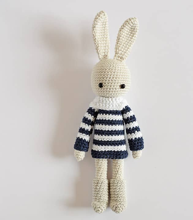 Angie Bunny – Nordic Boots – CrochetObjet