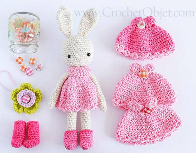 Bunny Crochet Free Pattern You Will Love This Collection | 490x630