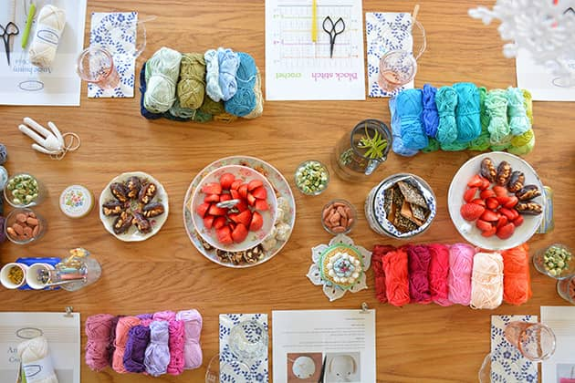 Colour Therapy Crochet Workshops CrochetObjet By MoMalron