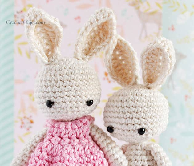 Baby Bunny Ears CrochetObjet Gorgeous Crochet Rabbit Pattern