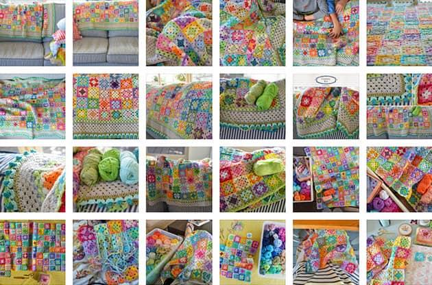 Crochet Bloom Blanket