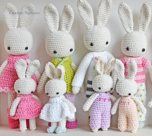 free crochet pattern bunny amigurumi - Yahoo Image Search Results ... | 563x630
