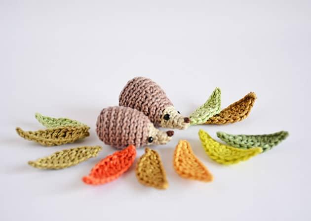 crochet baby hedgehog pattern