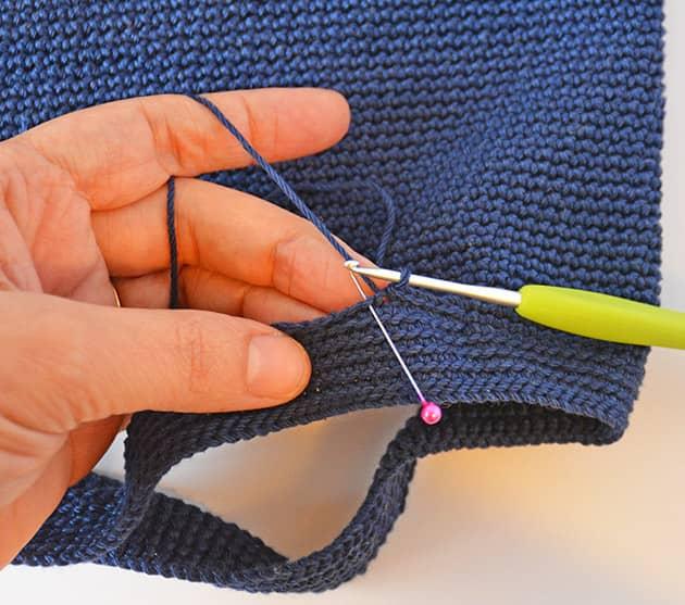 crochet sl st edging