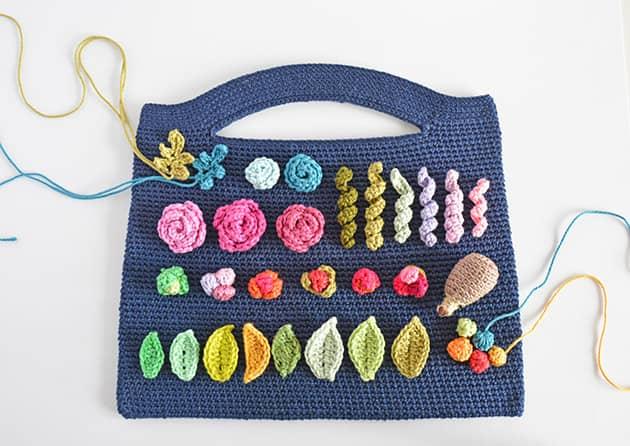 crochet bag Bouque