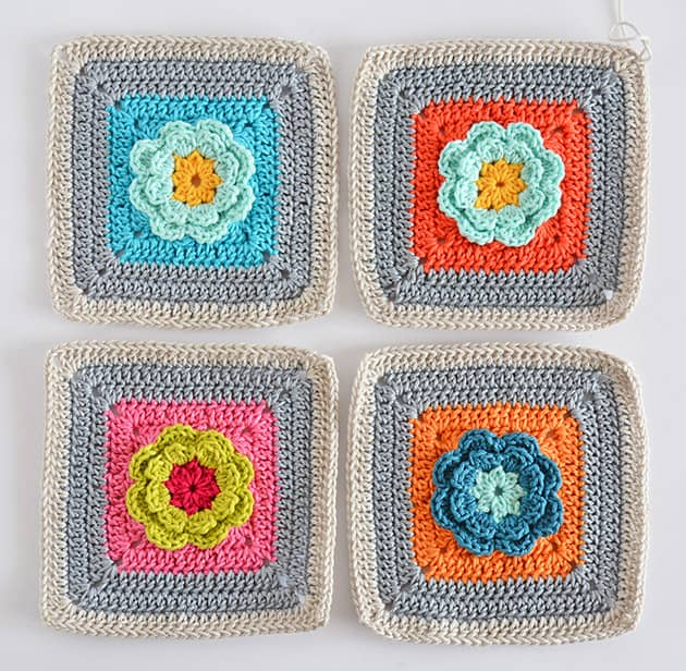 love garden granny squares