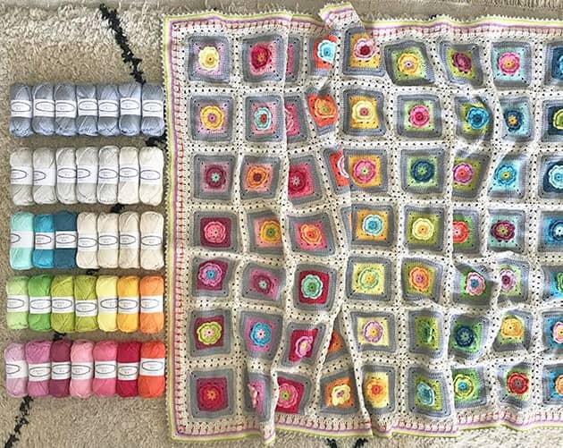 love garden blanket