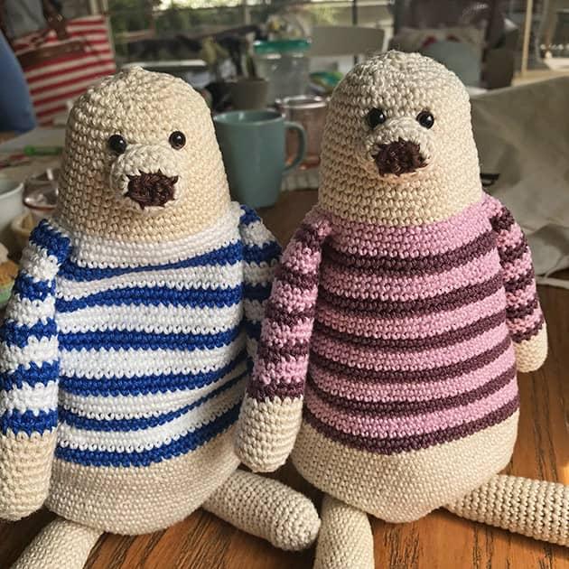Cotton yarn amigurumi pattern