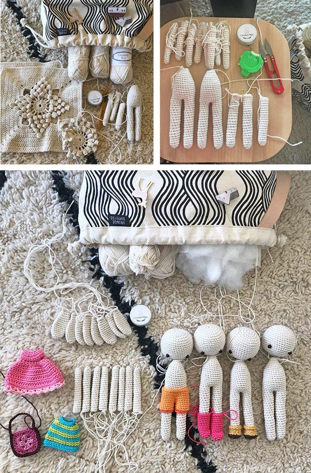 Bunny crochet pattern Amigurumi toy Rabbit family Nursery decor My ... | 958x630