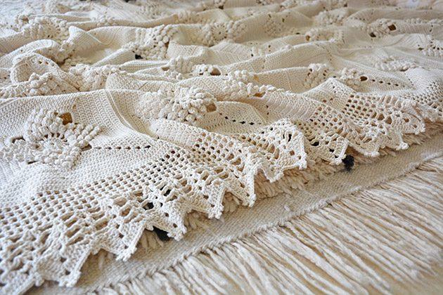 cotton crochet blankets