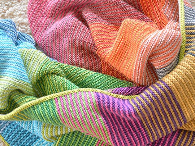 cotton crochet blankets spring sale
