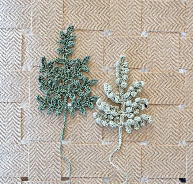 crochet fern leaf pattern