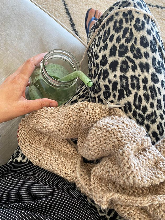 happy knitting moments