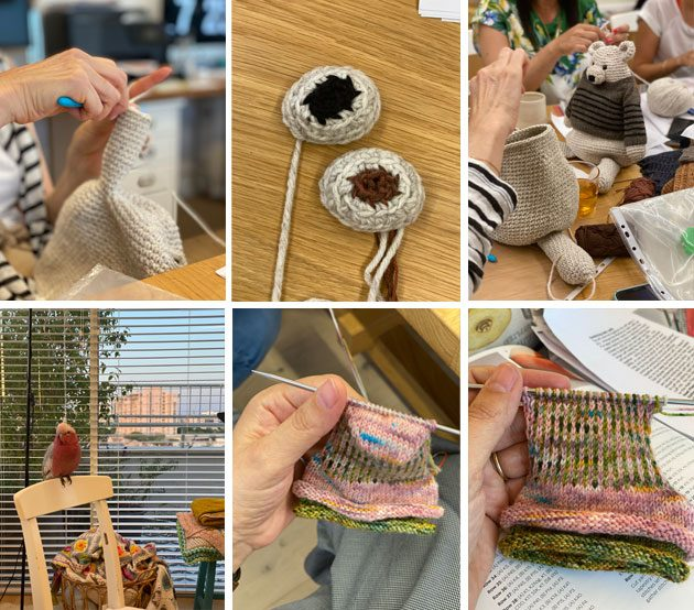 Knitting and crochet moments from the past week
