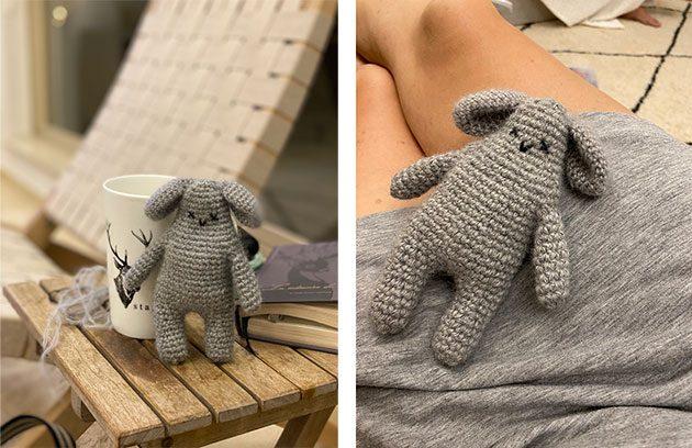 Crochet bunny pattern coming soon
