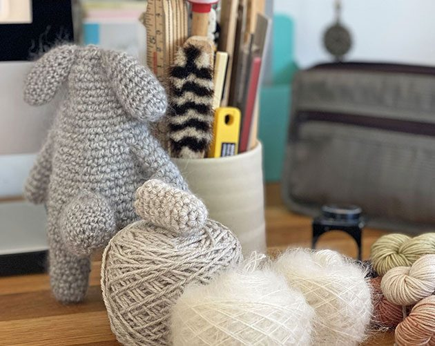 bunny alber crochet pattern