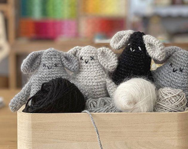 bunny Alber a new crochet pattern
