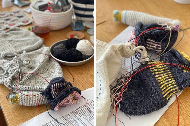 This week at CrochetObjet knitting