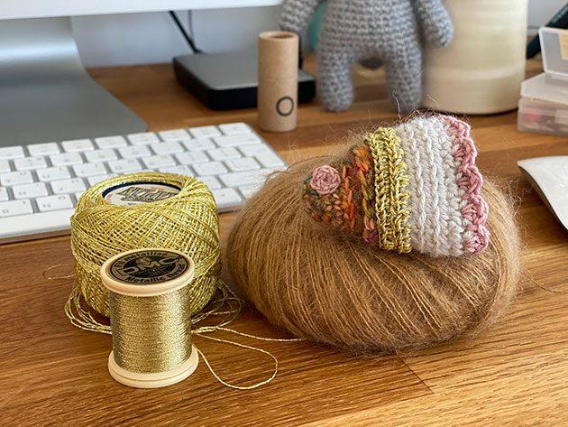 Shana Tova from CrochetObjet knitting