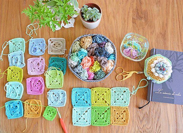 Crochet Solid Square Video Tutorial